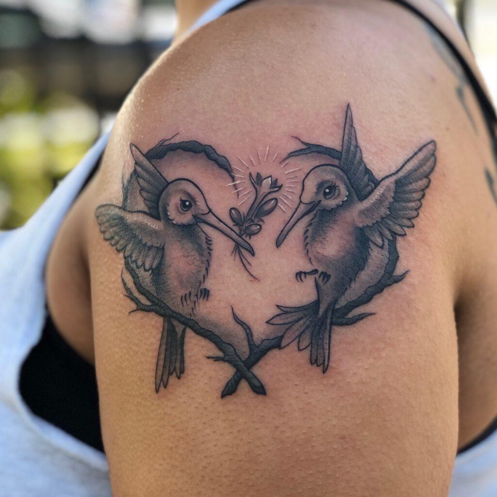 Hummingbird Love | Tattoo