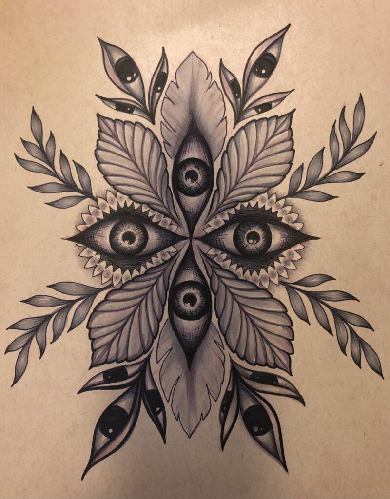 Lush | Pencil & Ink