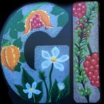 Medicinal Plants of Florida Mural {Letters part of a larger community mural} | Spraypaint